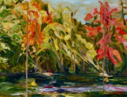 york river triptych